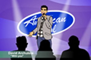 american idol dave singing music club rap hip hop